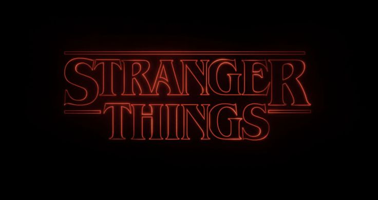 Stranger Things Title Sequence. Photograph: Netflix